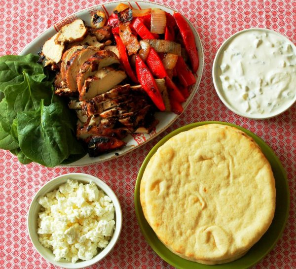 greek fajitas