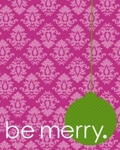 Holiday Merry from Announced Design