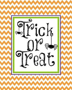 Halloween Trick or Treat from Second Chance to Dream