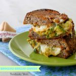 Leftover Broccoli Grilled Cheese