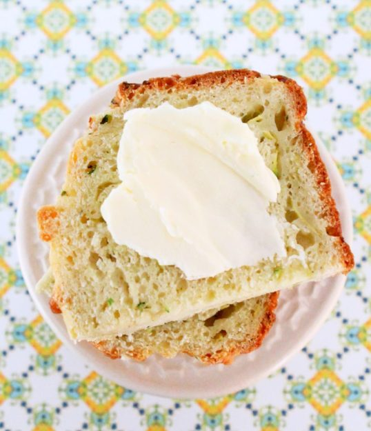 Zucchini Parmesan Quick Bread from Foodtastic Mom