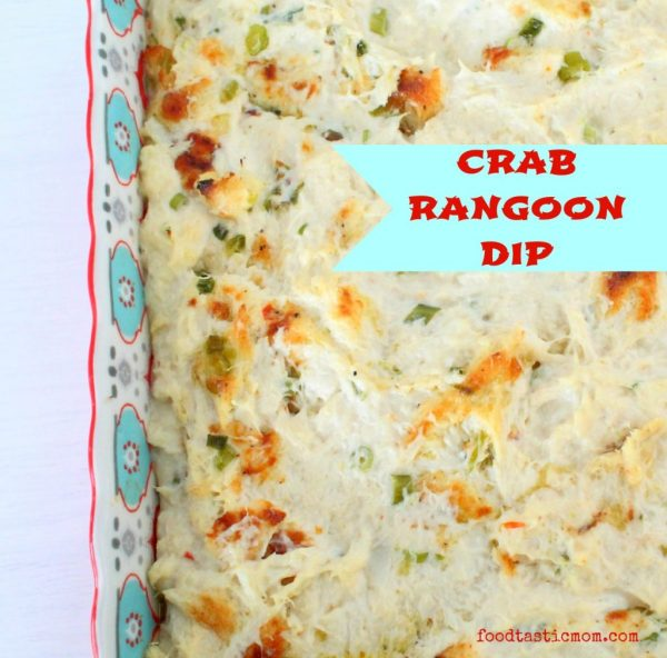 Crab Rangoon Dip by Foodtastic Mom