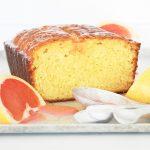 Ruby Red Grapefruit Loaf Cake