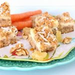Carrot Cheesecake Crumb Bars