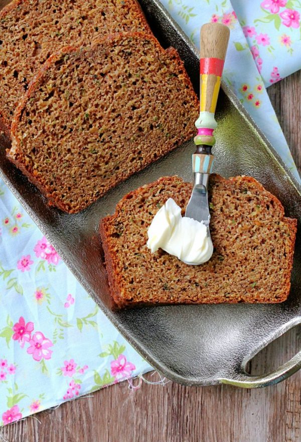 Simply Perfect Zucchini Bread by Foodtastic Mom