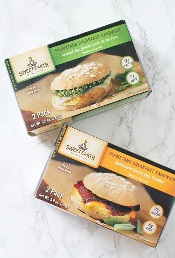 Sweet Earth Breakfast Sandwich Review by Foodtastic Mom #SweetEarth #BetterBreakfast