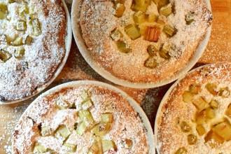 Blitz-Rhabarber-Kuchen