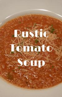 The Chew: Rustic Tomato Soup Recipe