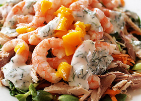 prawn mango turkey feature