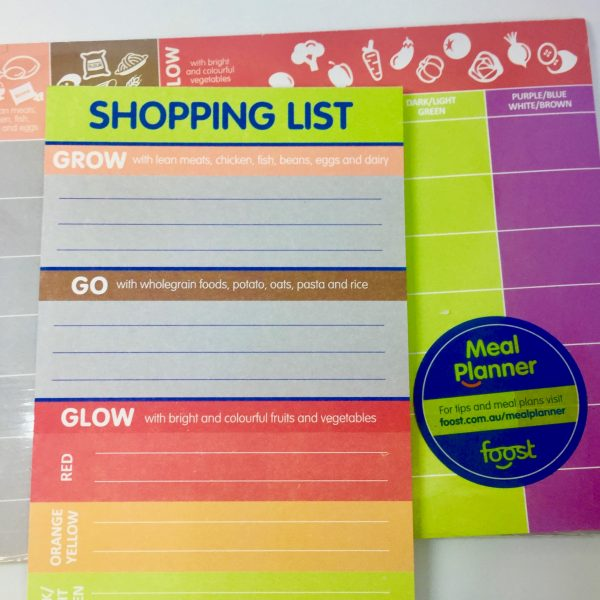 meal planner and shopping list - Foost