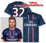 David Beckham Shirt Number