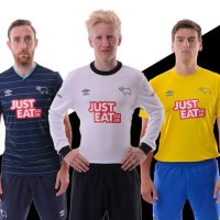 New Derby County 2014-2015 Season Umbro Away & Third Kits Released