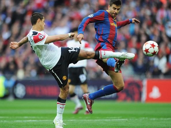 Gerard+Pique+Barcelona+v+Manchester+United+1mTKYE0KiOxl