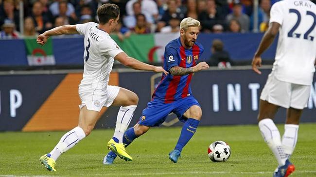 بارسلونا 4-2 لسترسیتی؛ کاتالان ها قهرمان انگلیس را گلباران کردند