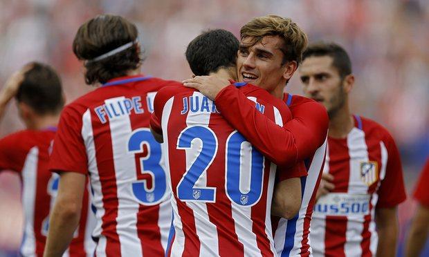 اتلتیکو مادرید 1 – 0 دپورتیوو لاکرونیا؛ تعقیب و گریز صدرنشینان با گریزمان