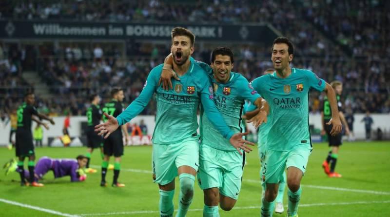 مونشن گلادباخ 1-2 بارسلونا؛ تغییر تاکتیک انریکه همه چیز را در عرض 8 دقیقه تغییر داد