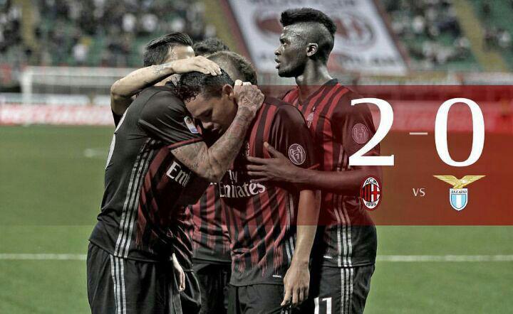 میلان 2 – 0 لاتزیو؛ مونتلا و میلان به رده سوم رسیدند