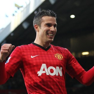 van Persie excelled in his United roll. He led the team and league in scoring,