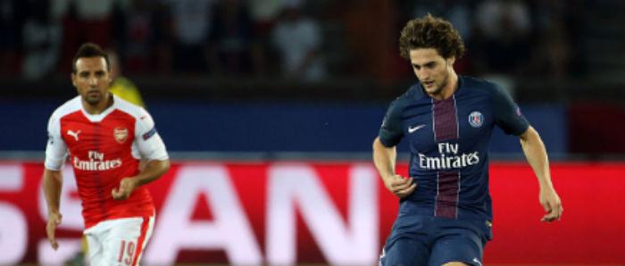 Adrien Rabiot forfait pour PSG-Bâle car il préfère regarder Barcelone-City
