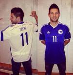 Bosnia World Cup Soccer Jersey
