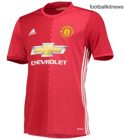 New Manchester United Home Jersey 2016/2017 | Football Kit News| New Soccer Jerseys