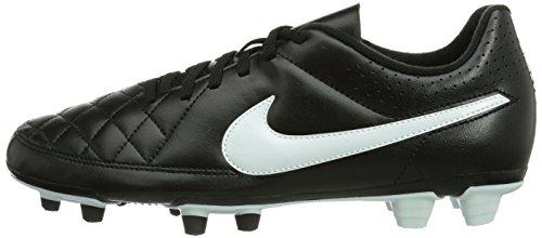 Nike Tiempo Rio Ii Fg Synthetic Black White Mens Soccer Us
