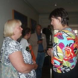 Birgitta Calmefelt & Dr Astri Schulze
