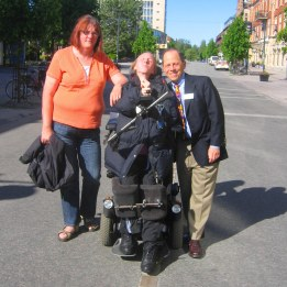 Eva, Ann-Sofi & Dr Kaplan Luleå 2008