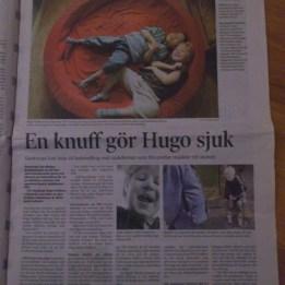 2004. Hugo i Svenska Dagbladet där blev han omdöpt till Hallbert och plaserad i Västerås :) så kan det gå om man inte får korrläsa texten.