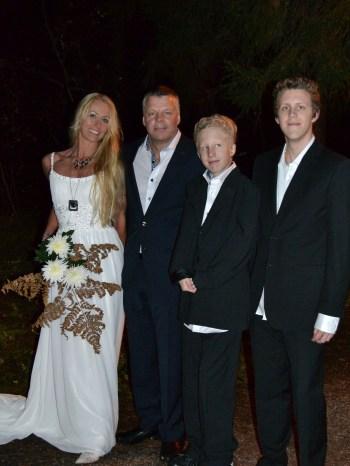 """""""Just Married"""" Marie & Pelle Hugo Kazper Fahlberg"""