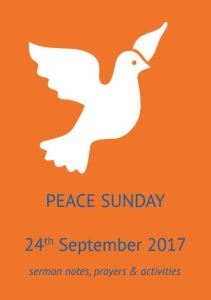 Peace Sunday front cover 2017