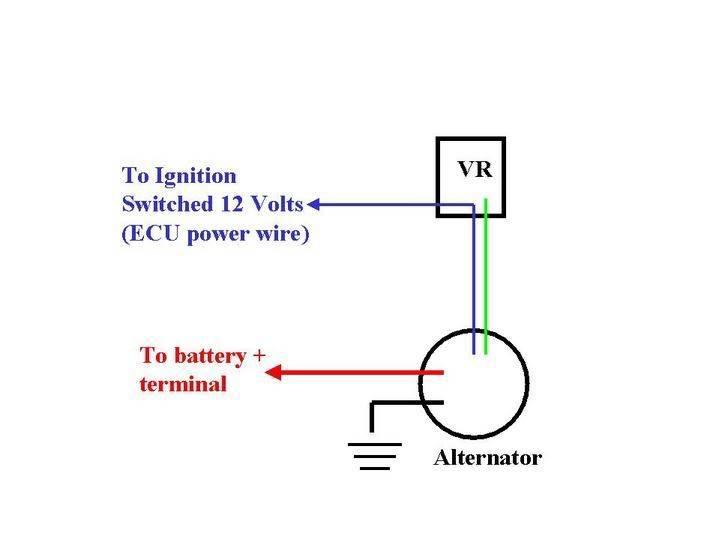 dodge voltage regulator wiring diagram