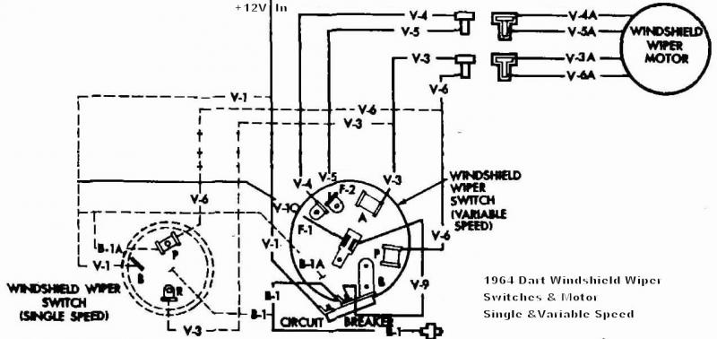 mopar wiper motor wiring diagram