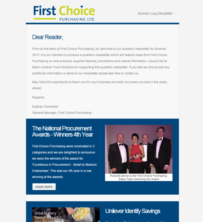 Newsletter Template Designs to match your business brand - company newsletter template free