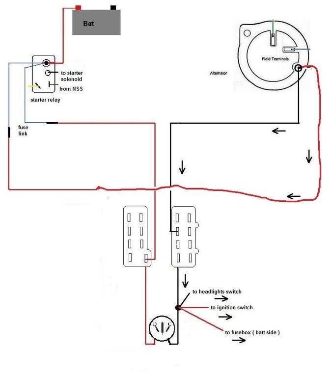 amperage gauge wiring diagram