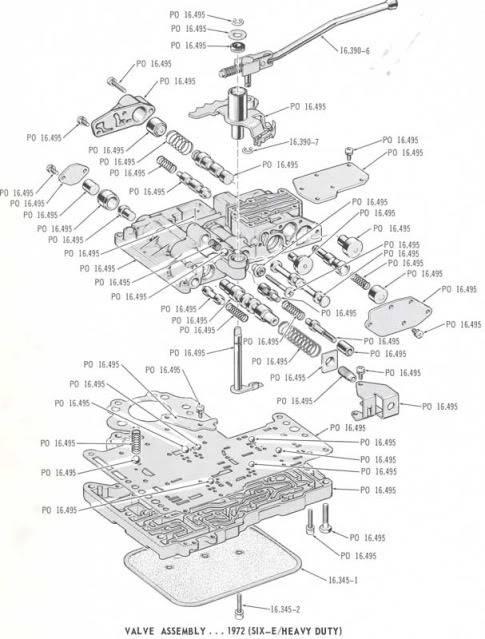 48re valve body diagram