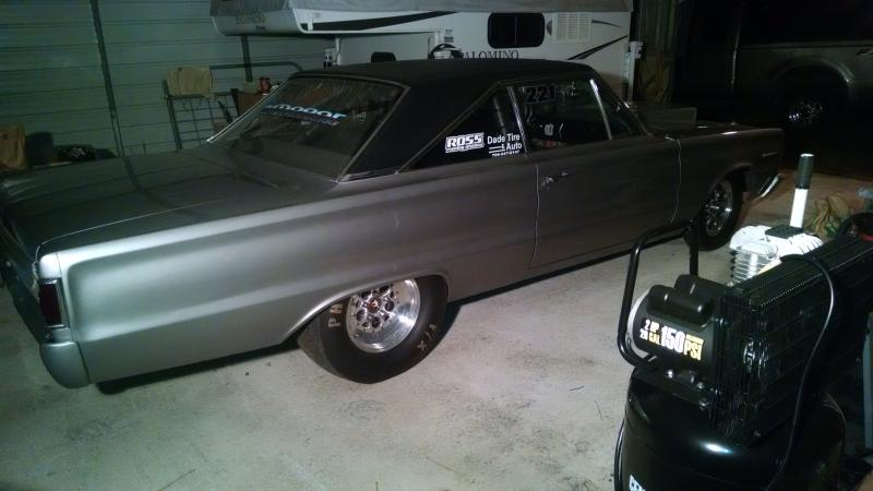 Sold 1967 Belvedere Ii Drag Car Rolling Chassis For B