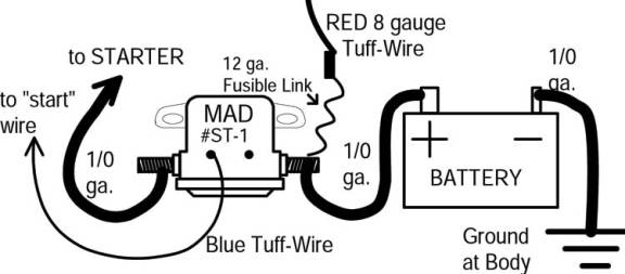 battery disconnect solenoid wiring diagram