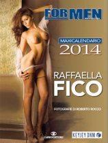 Il calendario 2014 di Raffaella Fico   © For Men