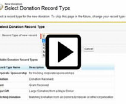 Manage Donations in Salesforce forcifyme