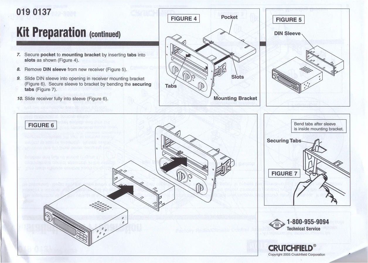 2000 ford taurus aftermarket radio install kit