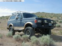 Wilderness roof rack ford bronco
