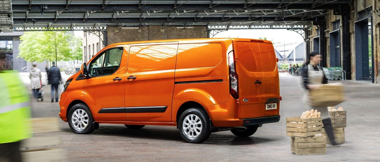 New Ford Transit Custom Versatile Mid Sized Van Ford Uk