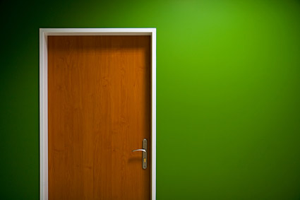 3d Fruit Wallpaper Green Walls And Doors Picture Material Download Free