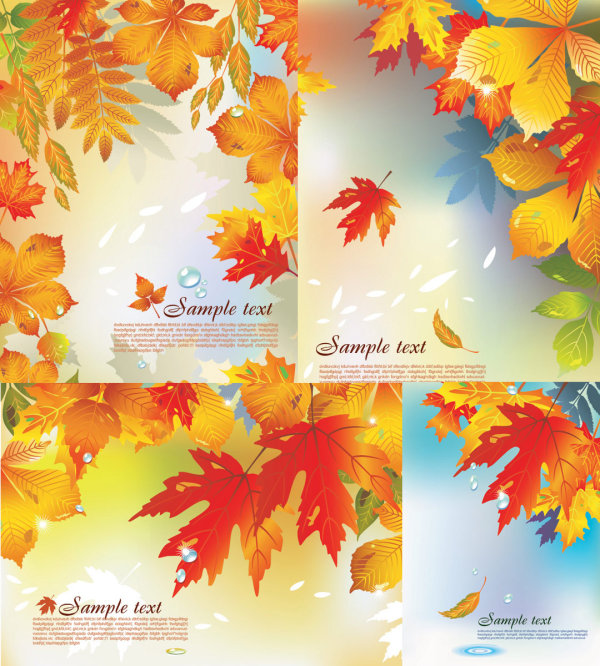 Vector background of the fall \u2013 Over millions vectors, stock photos