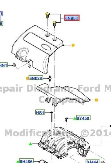 2008 ford edge 3 5l engine diagram