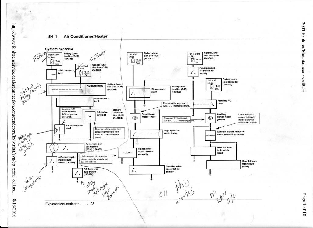 2000 Ford Taurus Wiring Diagram Schematic Diagram Electronic