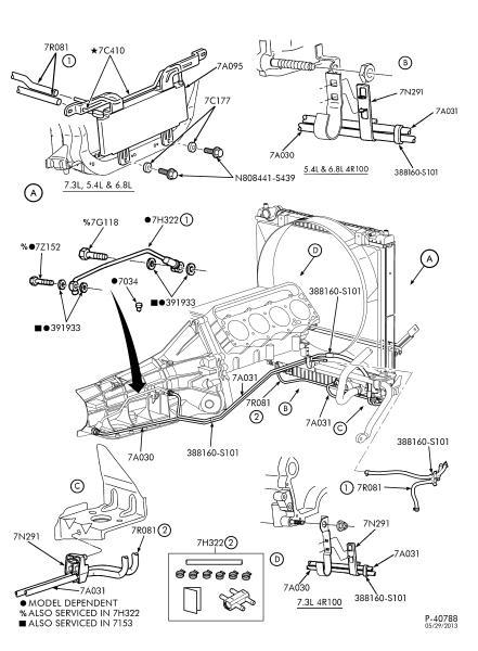 2001 ford powerstroke Schaltplang