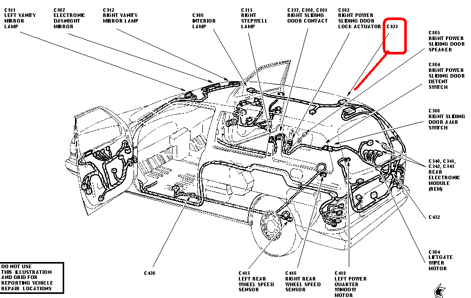 2003 ford windstar headlight wiring diagram