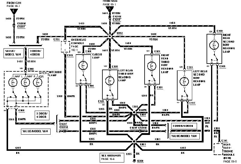 2000 ford windstar wiring schematic